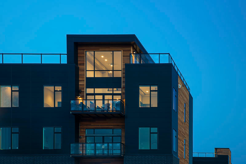 City Centre Lofts, Foss Architecture, Accent Contracting, Downtown Fargo, Fargo Lifestyle, Midwest Nest Magazine