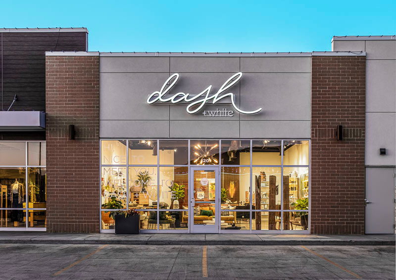 Dash & White, Shoppes at B LU Water Creek, Midwest Nest Magazine