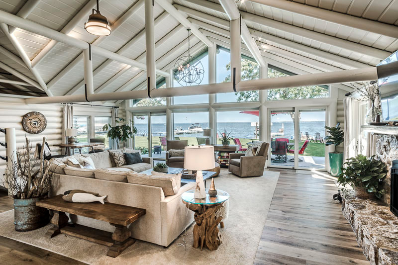 cabin overhaul, Otter Tail Lake, Schissel remodel, Midwest Nest Magazine