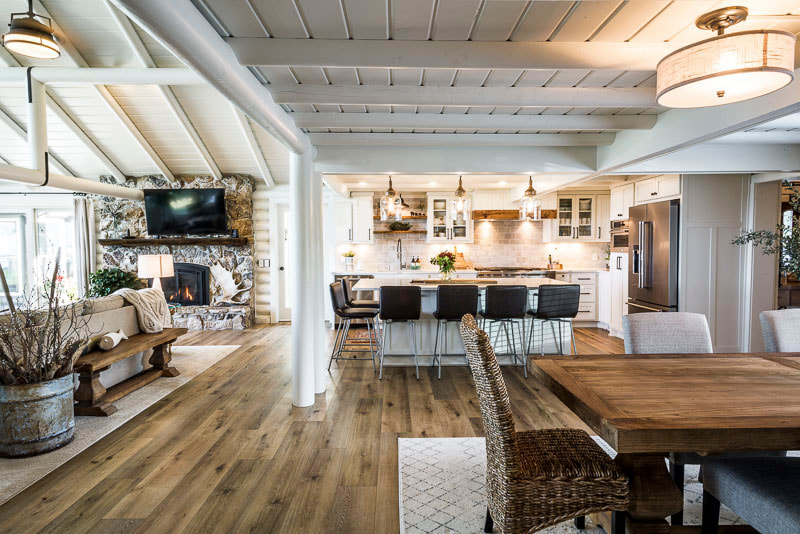 kitchen overhaul, Otter Tail Lake, Schissel remodel, Midwest Nest Magazine