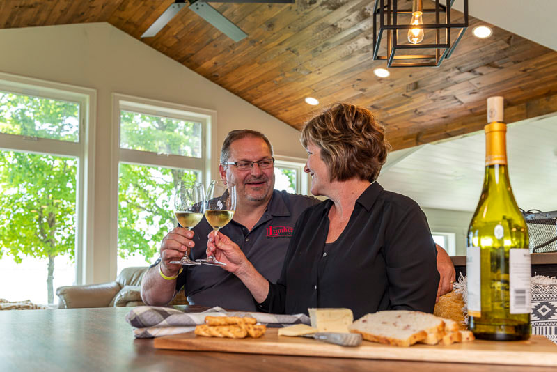 Chris and Peggy Rutten, Marion Lake Makeover, Midwest Nest Magazine