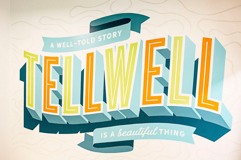 Tellwell, design by work, Storytime by design, Fargo, Midwest Nest Magazine