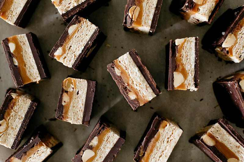 Molly Yeh, Homemade Snickers, Midwest Nest Magazine